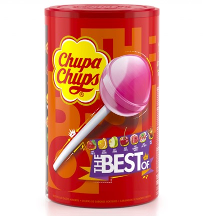 """Sucettes Chupa chups assorties """"the best of"""""""
