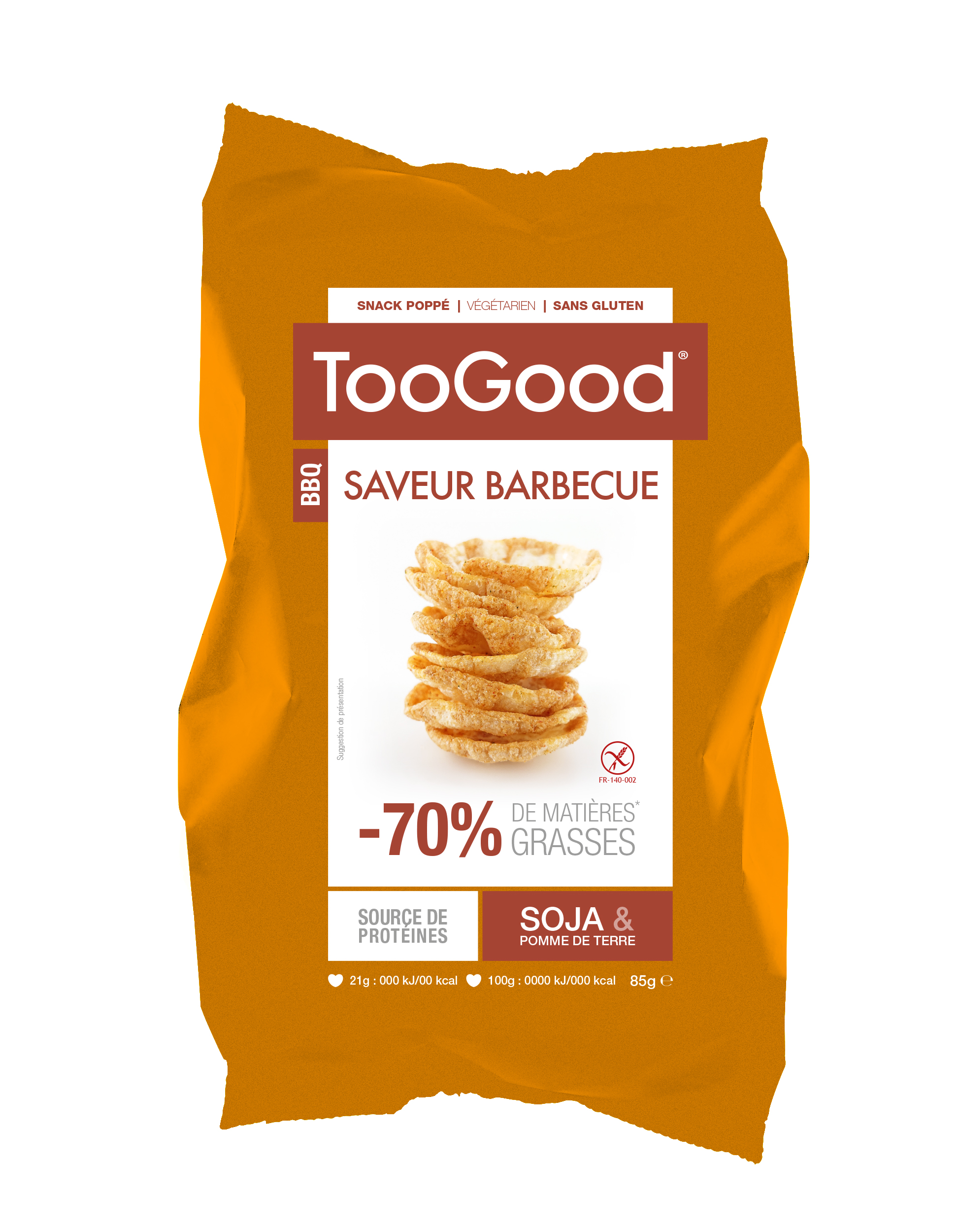 Chips barbecue Toogood